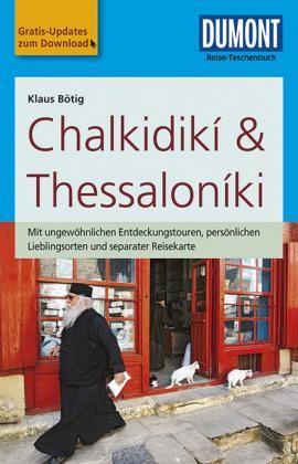 Chalkidiki & Thessaloniki Reise-taschenbuch Dumont