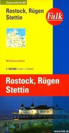 03 Falk Regional Rostock Rugen Stettin 1:150.000