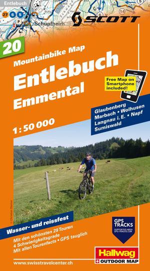 Entlebuch - Emmental Bike Map