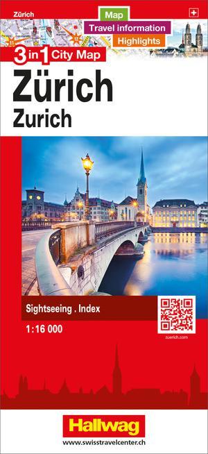 Zurich 3 in 1 CityMap