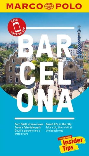Barcelona Marco Polo Pocket Travel Guide 2018 - With Pull Out Map