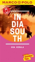 India South Marco Polo Pocket Travel Guide 2018 - With Pull Out Map