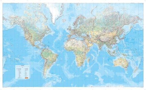 Mair Welt World Physical 1:30m Plano Papier