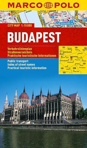 Marco Polo Boedapest Cityplan