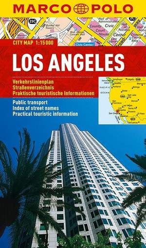 Los Angeles Marco Polo Stadsplattegrond