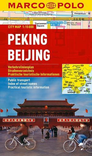 Peking Beijing Marco Polo City Map 1:15.000