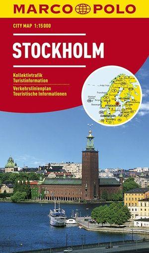 Marco Polo Stockholm Cityplan