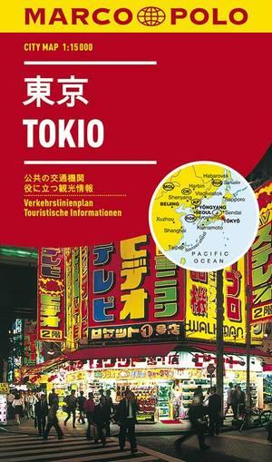 Marco Polo Tokyo Cityplan