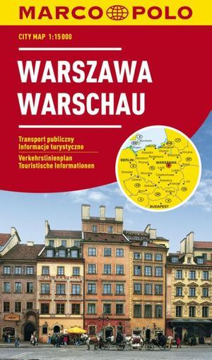 Marco Polo Warschau Cityplan