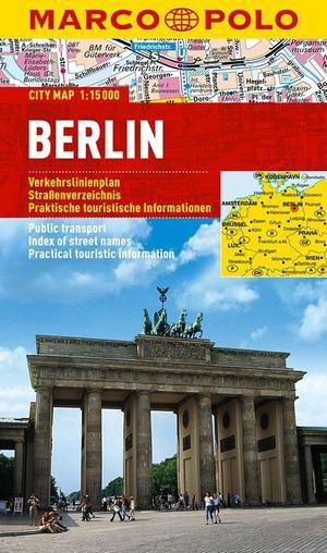 Marco Polo Berlijn Cityplan