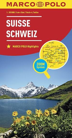 Schweiz Zwitserland 1:303.000