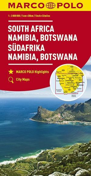 Marco Polo Zuid-Afrika, Namibië, Botswana