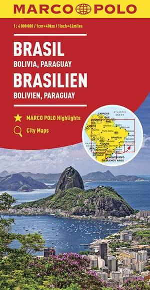 Marco Polo Brazilië, Bolivia, Paraguay