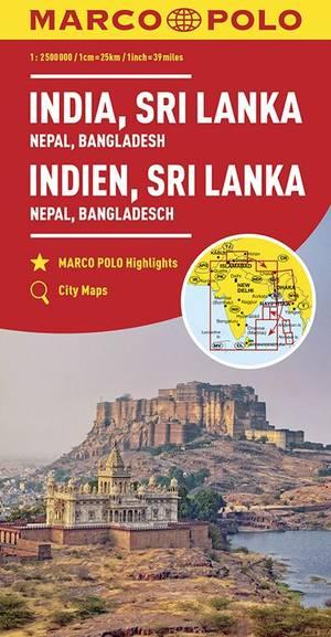 Marco Polo India, Sri Lanka, Nepal, Bangladesh