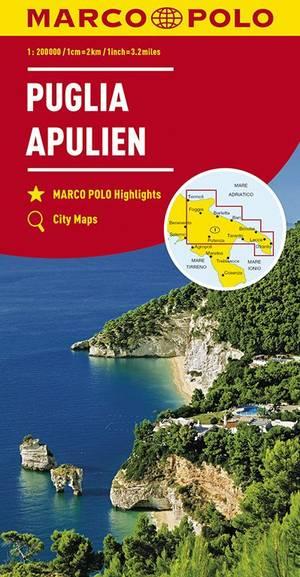 Mpk 11 Apulien Puglia 1:200.000