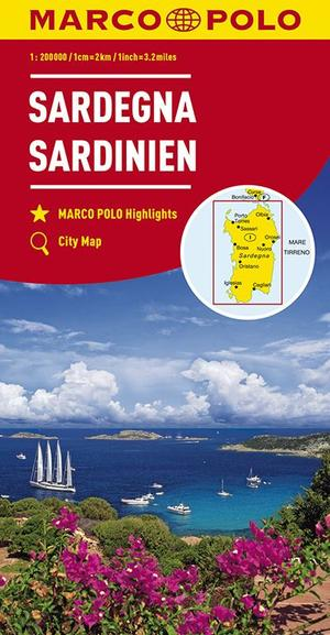 Mpk 15 Sardinien Sardinie 1:200.000