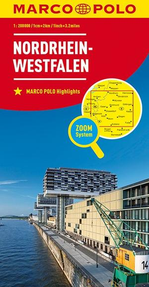 Mpk D5 Nordrhein Westfalen 1:200.000