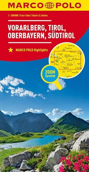 Marco Polo Vorarlberg, Tirol, Hoog-Beieren, Zuid-Tirol 03