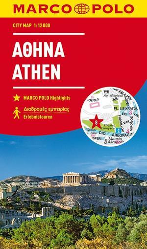 MARCO POLO Cityplan Athen 1:12 000