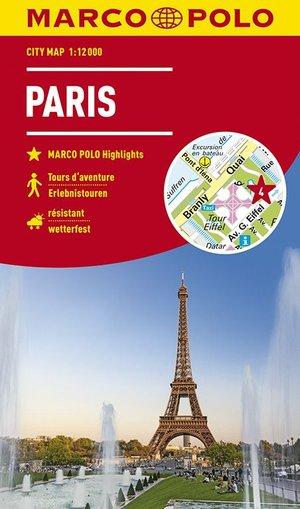 Marco Polo City Map Parijs