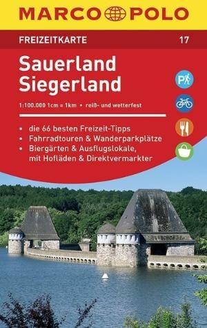Sauerland Siegerland Freizeitkarte 17 1:100.000
