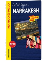 Marrakesh Marco Polo Travel Guide - With Pull Out Map