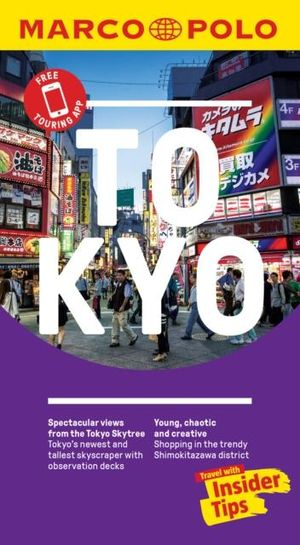 Tokyo Marco Polo Pocket Travel Guide 2019 - With Pull Out Map