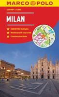 Milan Marco Polo City Map 2018 - Pocket Size, Easy Fold, Milan Street Map