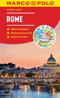 Rome Marco Polo City Map 2018 - Pocket Size, Easy Fold, Rome Street Map