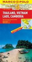 Thailand, Vietnam, Laos, Cambodia Marco Polo Map