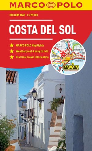 Marco Polo Costa Del Sol Holiday Map
