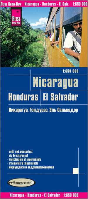 Nicaragua And Honduras And El Salvador