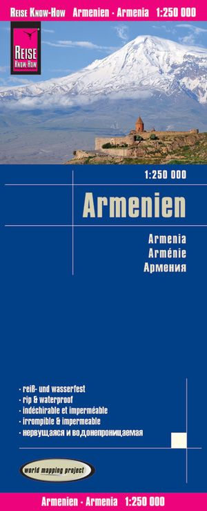 Armenië landkaart