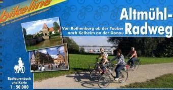Altmuhl Radweg Bikeline