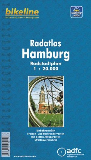 Hamburg Radatlas Radstadtplan