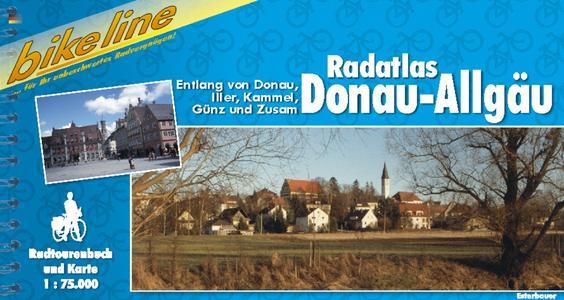 Donau-allgau Radatlas- Bikeline