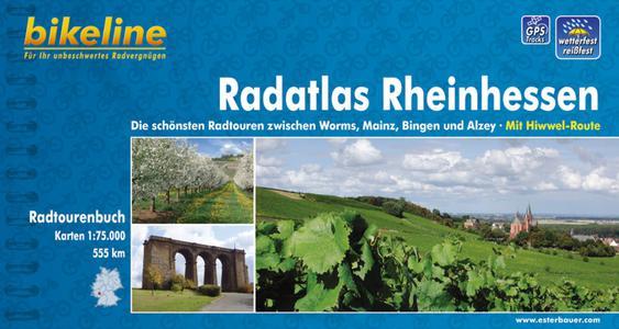 Rheinhessen Radatlas Worms-mainz-bingen-alzey