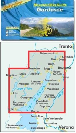 Gardasee Mountainbikeguide Bikeline