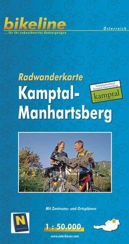 Kamptal/manhartsberg Walking Map Gps