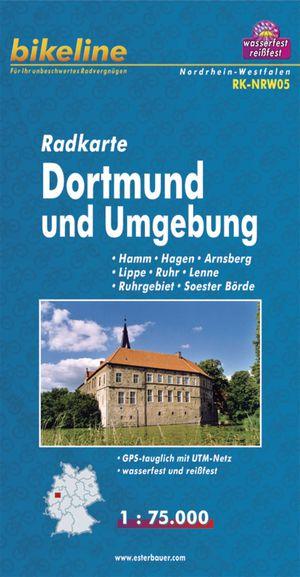 Dortmund And Environs Cycle Map