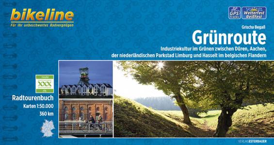 Gruenroute Radtourenbuch Dueren Limburg (nl), Hasselt (be)