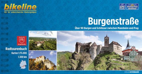 Burgenstrasse radtourenbuch von Mannheim nach Prag