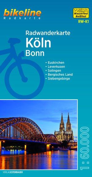 Keulen / Bonn fietstourkaart
