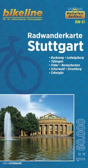 Stuttgart fietstourkaart