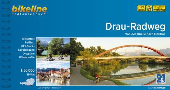 Drau - Radweg Radtourenbuch Bikeline fietsgids