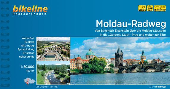 Moldau - Radweg Bayerisch Eisenstein über Moldau-Stauseen Prag zur Elbe