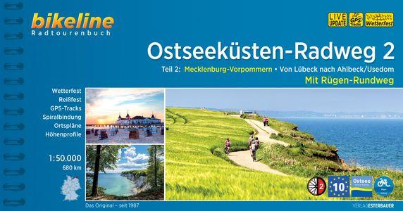 Ostseekuesten - Radweg 2 Luebeck-ahlbeck - Ruegen