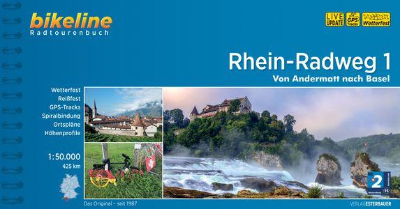 Rhein Radweg 1 Andermatt - Basel