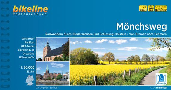 Mönchsweg Radwandern durch Niedersachsen uns Schleswig-Holstein Von Bremen nach Fehmarn