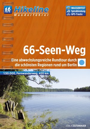 66 - Seen - Wanderweg Fernwanderweg Rund Berlin